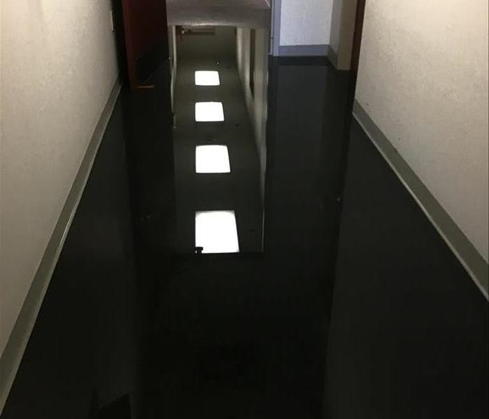 Water damage at commercial water losss